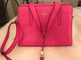Kate Spade Pink Handbag! Lightly worn