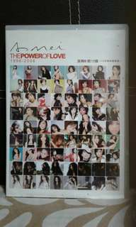 Cds  2 discs  Amei 阿妹  The power of love  爱的力量  Pickup hougang buangkok mrt  Or add $1 postage