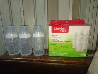 Playtex Nurser disposable feeding bottle