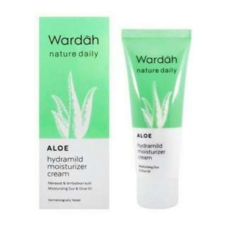 Wardah Hydramild Moisturizer Cream Aloe 40 ml
