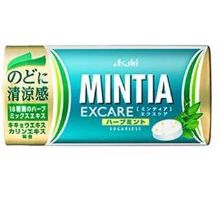 (全新訂購) 日本製造 Asahi MINTIA EXCARE 草本薄荷糖 25 粒 (6 盒裝)