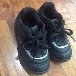Black Rubber Shoes for boys Size 25