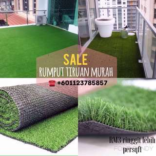 rumput tiruan murah / artificial grass