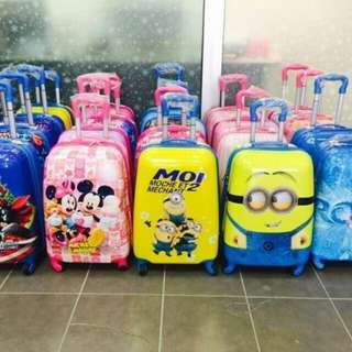 KIDS CARTOON LUGGAGE BAG 19""