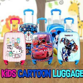 KIDS CARTOON LUGGAGE 19""