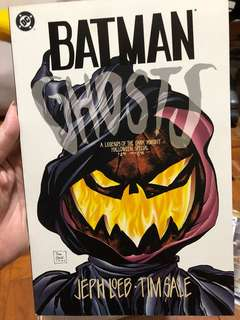 BATMAN GHOST A legend of the Dark Knight Halloween special 1995