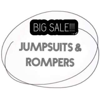 Rompers and Jumpsuits are on BIG SALE!!