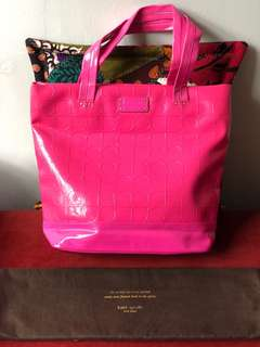 ORIGINAL Kate Spade Patent Leather Tote Bag