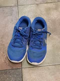 Nike shoes sneakers toddler kids trainers boys blue 12c