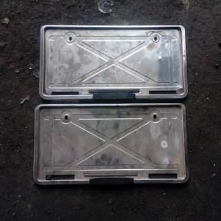 frame plate Mitsubishi