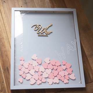 Wedding Guestbook - customisable
