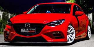 Mazda 3 (Sedan/HB) Knight Style Full Bodykit set