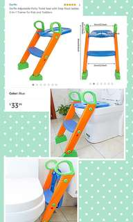 Potty Toilet Seat with Step Tool Ladder