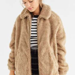 UO Light Before Dark Oversized Coat