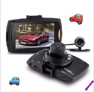 "🚙 DUAL Dash camera Car HD Crash Cam G-sensor Night Vision 170Degrees 1080P 2.7"" LCD DVR  Front & Back Camera Rear Camera"