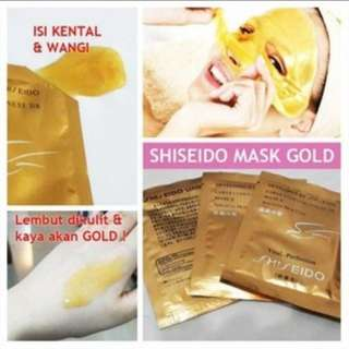 (NEW)  Masker Shiseido / Shiseido  Gold Whitening Mask
