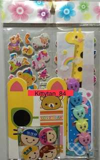 (Superior Set) Brand New Children's Birthday Party Goodies Bag / Gifts / Stationery