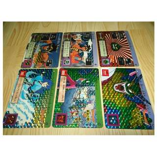 Dragon Quest loose prism cards