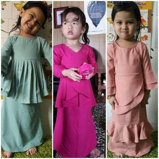 Baju Raya kanak-kanak 2018