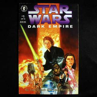 STAR WARS Dark Empire #1 (1991 Dark Horse)