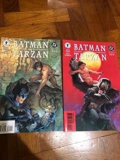 Batman Tarzan claws of the cat woman 1-2 1999