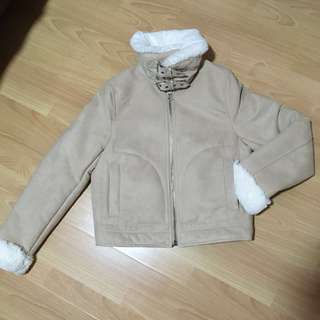 H&M Suede Winter Jacket