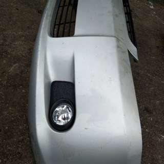 Toyota wish front bumper 2003-2005