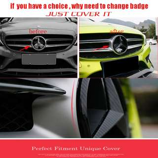 Front Grille Badge Cover, spend small money receive great different