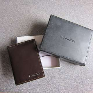 全新New(交收/順豐)Calvin Klein CK Leather Card Case真皮卡片套wallet emporio armani polo burberry gucci lv prada