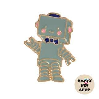[IN STOCK] Cute Robot Enamel Pin