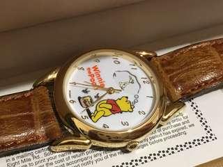Disney watch Winnie the Pooh watch 迪士尼手錶 小熊維尼