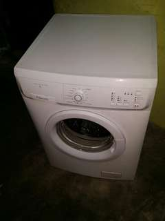 Used Electrolux front load hot washer 7.0kg washing machine mesin basuh fully auto stainless steel drum