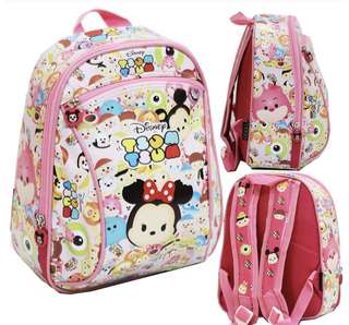 Tsum tsum Kids School Bag