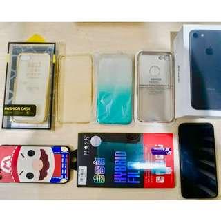 Iphone 7 128GB black matte ORI SINGAPORE MULUS 100%(Bonus temper+case)