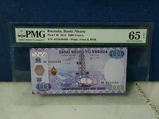 Rwanda 2000 Francs 🇷🇼 !!!