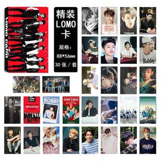 iKON Lomo Card / Group or B.I & Jay