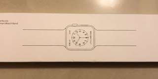 Apple iWatch 3代 白色陶瓷鏈式錶带 38mm