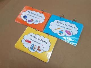 Phonics Flashcards - Set A