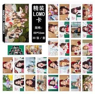 TWICE Lomo Card
