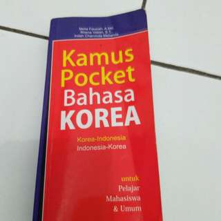 Kamus pocket bahasa korea
