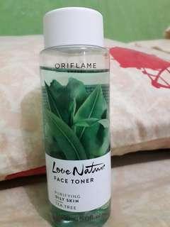Oriflame Love Nature Toner Green Tea