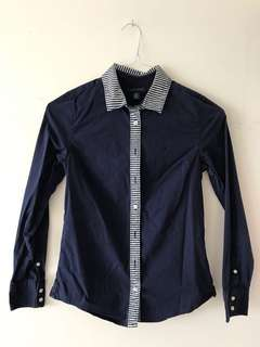 Blue Tommy Hilfiger button up