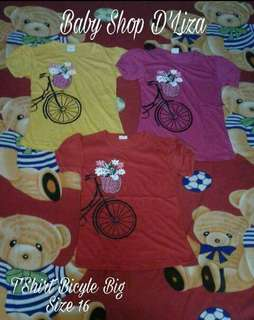 🎀T'SHIRT BICYLE BIG🎀
