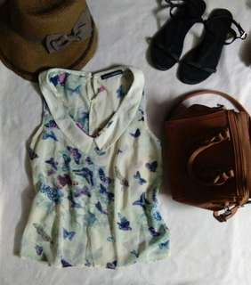 South Shores Butterfly Top