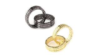 Himber Ring magic trick  (Gold/Black)