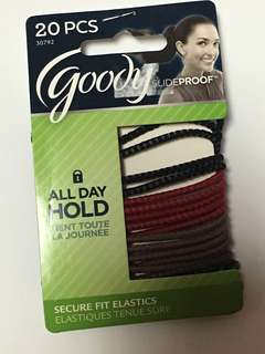 Goody All-Day Hold Slideproof Elastic Hair Ties