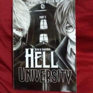 Hell University book