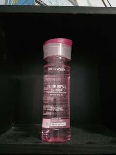 Silky girl gel make up remover