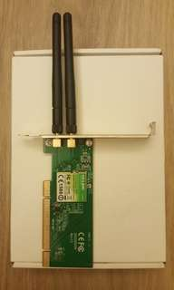 TP-LINK TL-WD851ND 300Mbps Wireless N PCI Adapter 無線雙頻 PCI 網路卡