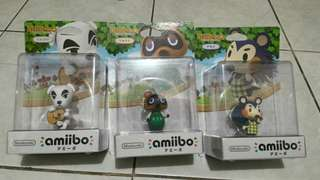3 Nintendo Animal Crossing Amiibo